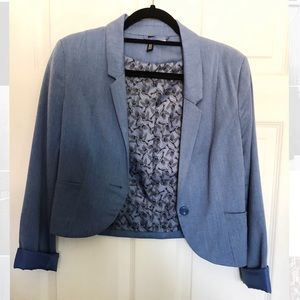 Urban Outfitters Light Blue Blazer